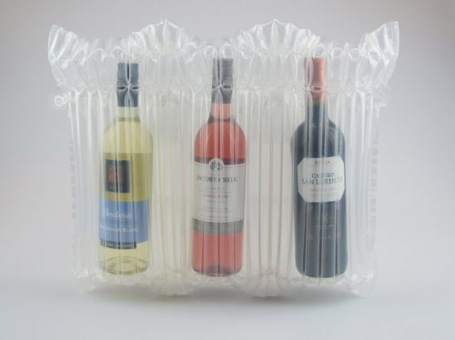 Three bottles in Bubl packaging